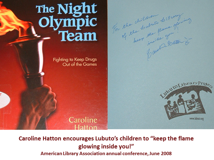 The Night Olympic Team  by Caroline Hatton