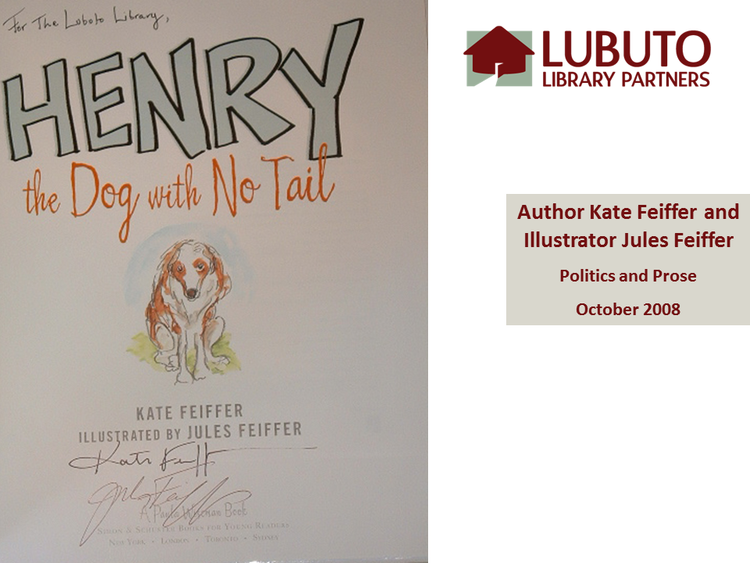 Henry the Dog with No Tail  by Kate Feiffer