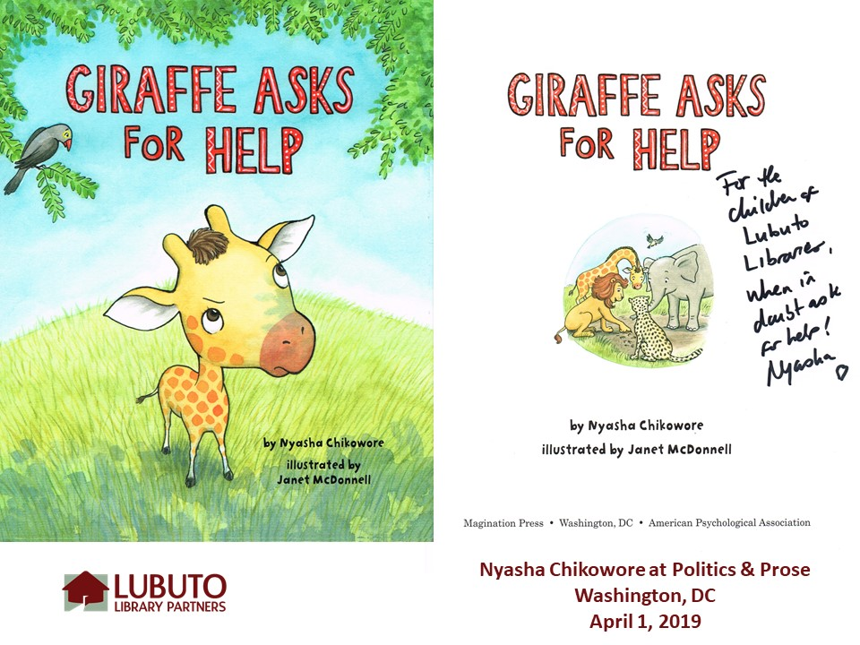 Giraffe Asks for Help  by Nyasha Chikowore
