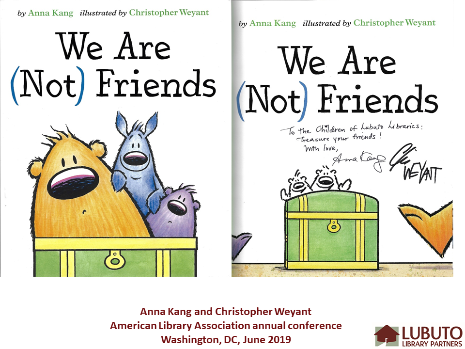 We Are (Not) Friends  by Anna King and Christopher Weyant