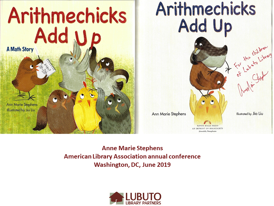 Arithmechicks Add Up  by Anne Marie Stephens