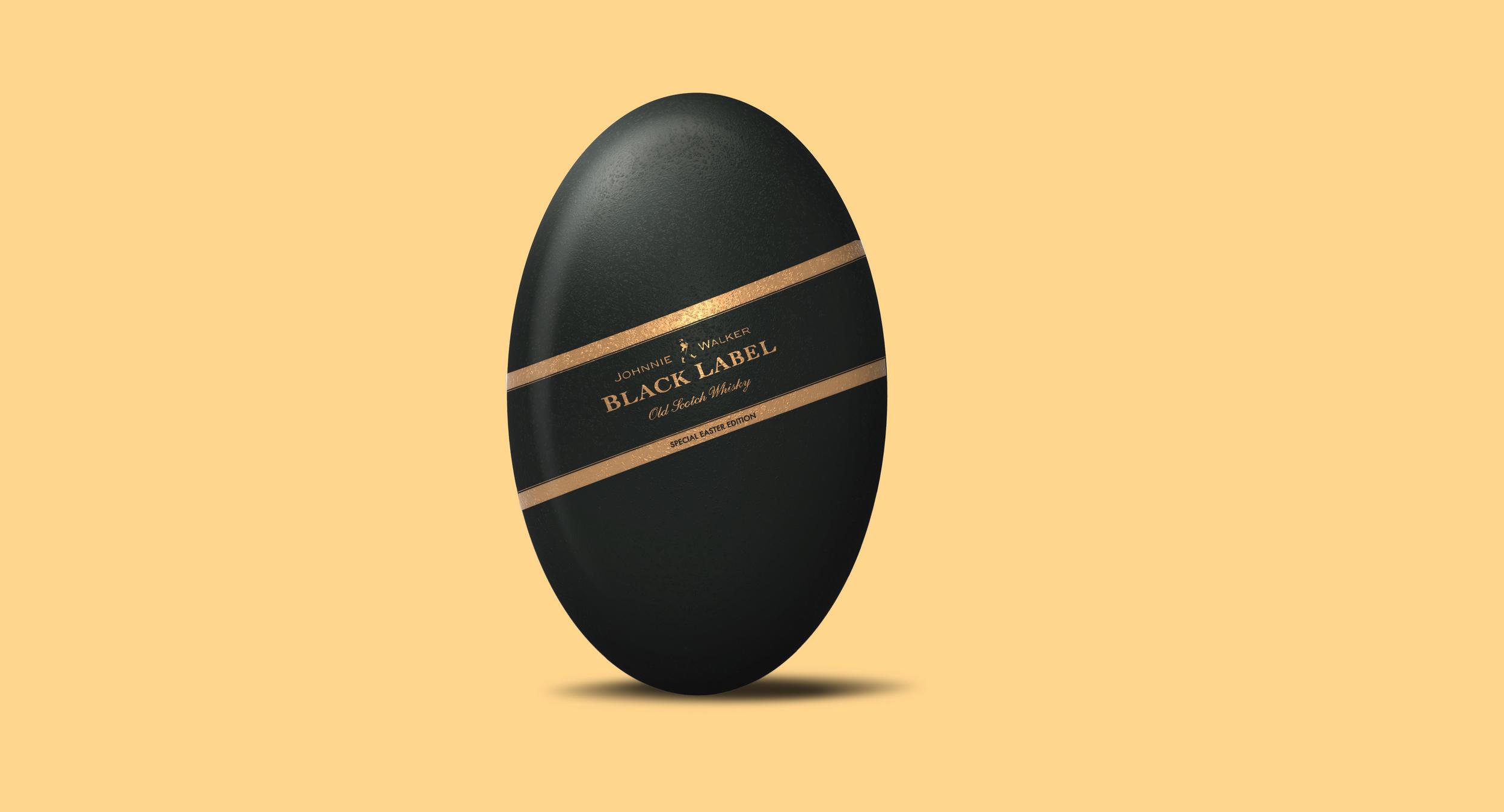 Johnnie Walker Easter Egg, Black Label.