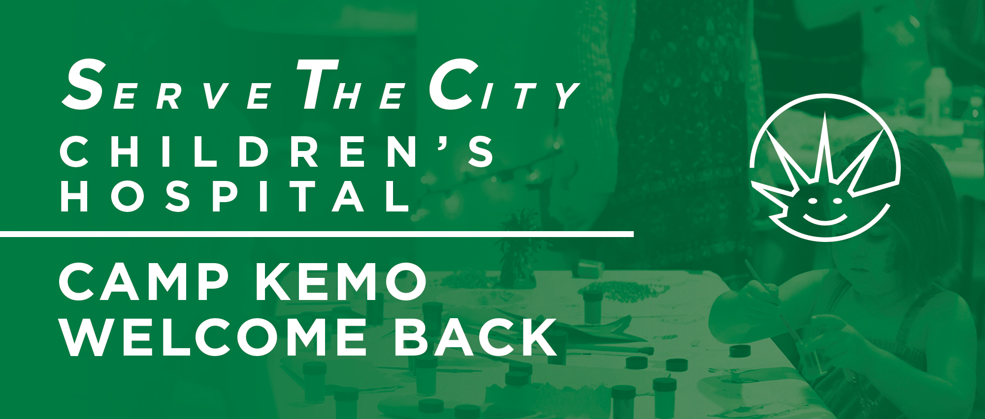 Join us for our Camp Kemo Welcome Back party as we help families unload their bags as they return from a week at Camp Kemo.
