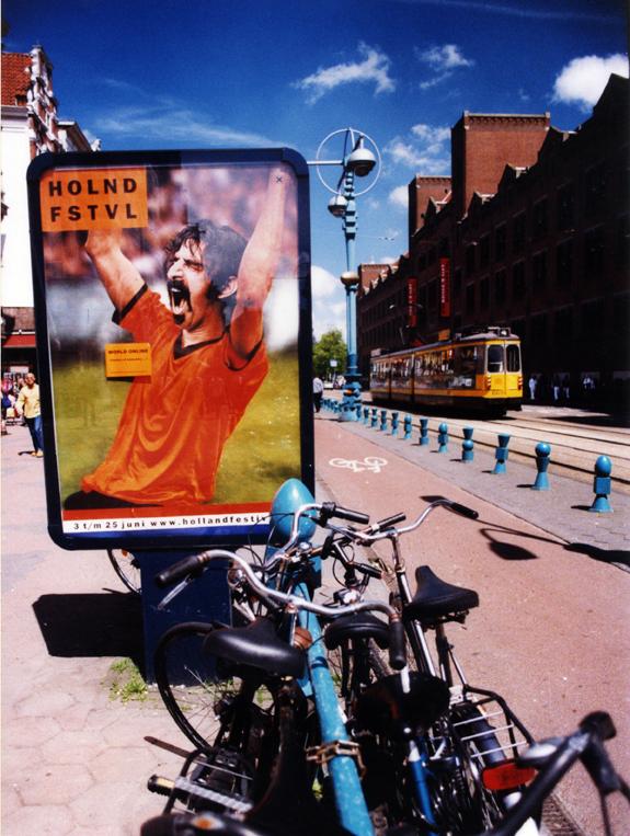 Amsterdam Street 2001 © Kalman N. Muller