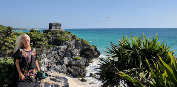 Just 30 miles from Playa del Carmen is Tulum, the only Mayan archaeological site built on the beach which is famous for its multi-tiered temples.