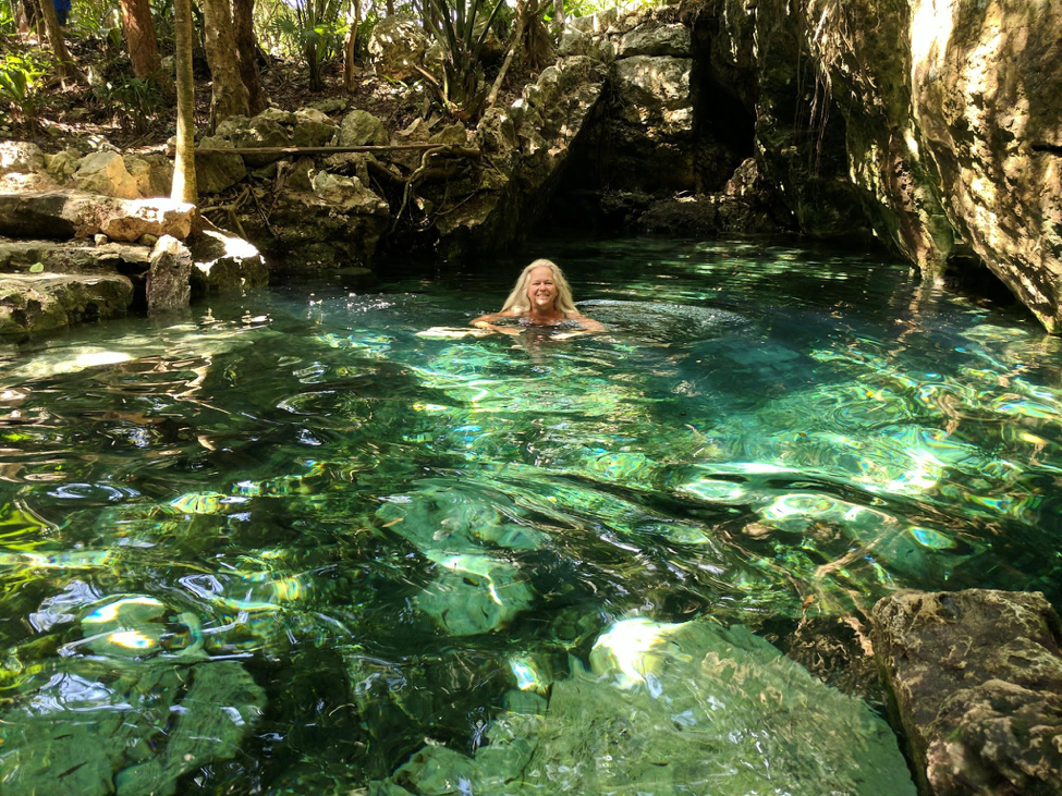 Swimming in these crystal-clear water feels like stepping back into the time of our ancestors.
