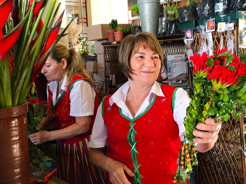 Market Flower Vendor