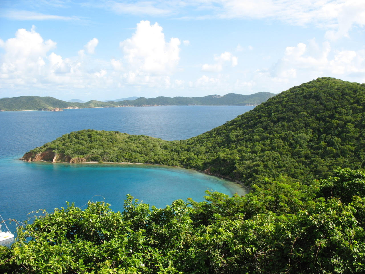 A British Virgin Islands View
