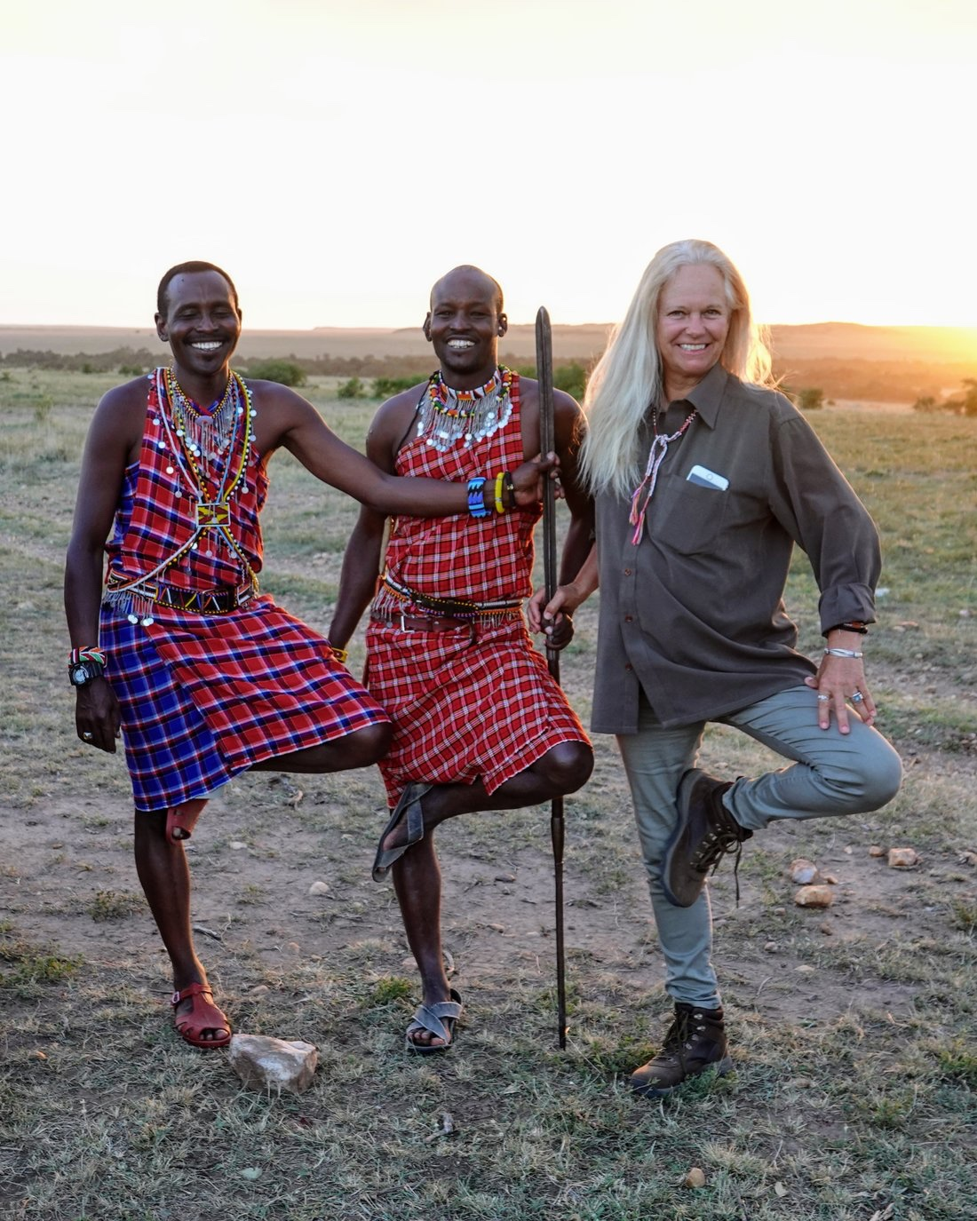 Whatever the story, wherever the journey, if you embrace playfulness, you have one leg up is what Don Young's Maasai trackers have taught me.