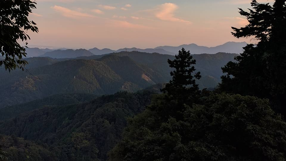 Just one of the many views from our first trek up Mt. Takao