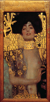Judith and The Head of Holofernes, by Gustave Klimt