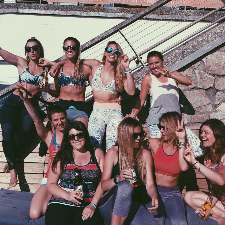 Ultimate girl gang. Love you dudes!!!