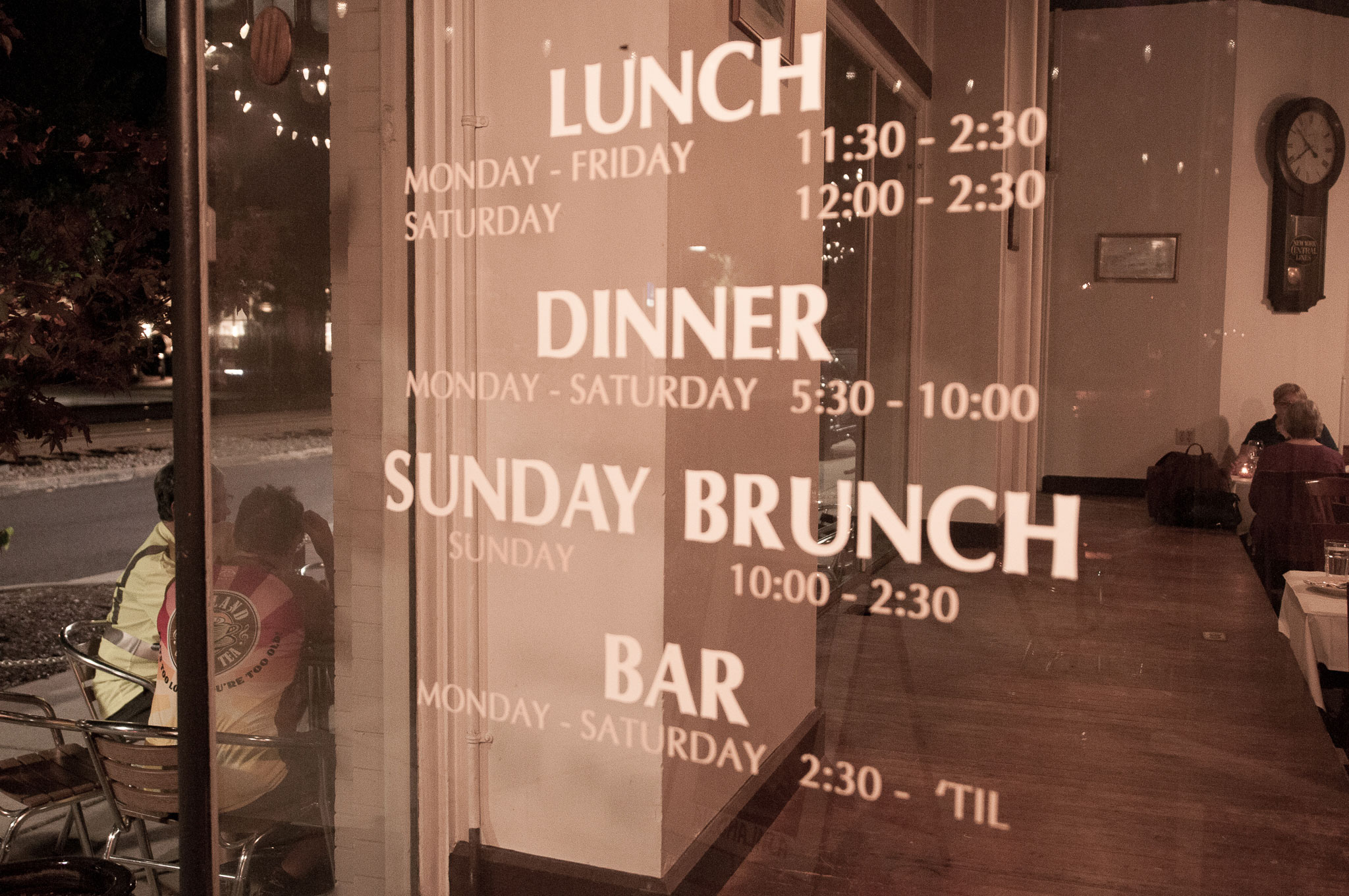 Hours - IRON HORSE is open seven days a week for lunch and dinner, Monday through Saturday, Sunday brunch, and Sunday Supper – a family-style price fixed service that offers one of Richmond's best dining values.Reservations are gladly accepted and appreciated for groups of 8 or more.Due to changing weather, thank you for understanding that café seating is strictly on a first-come basis.
