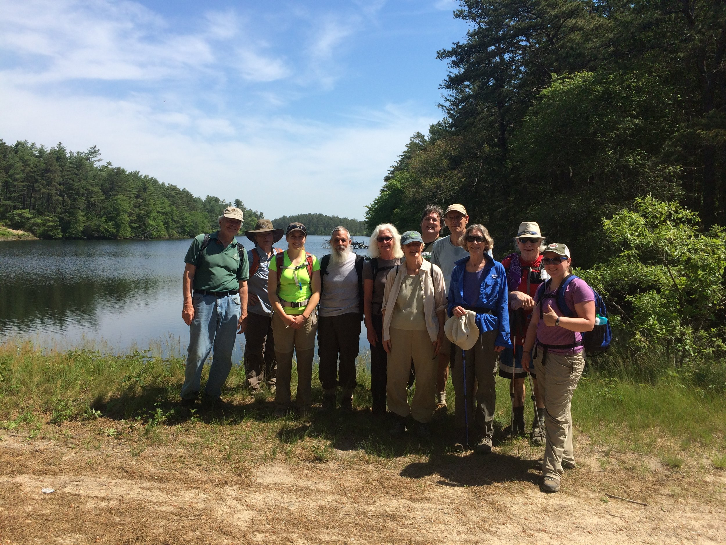 The Part II Crew (minus Scott) at Frogfoot Reservoir
