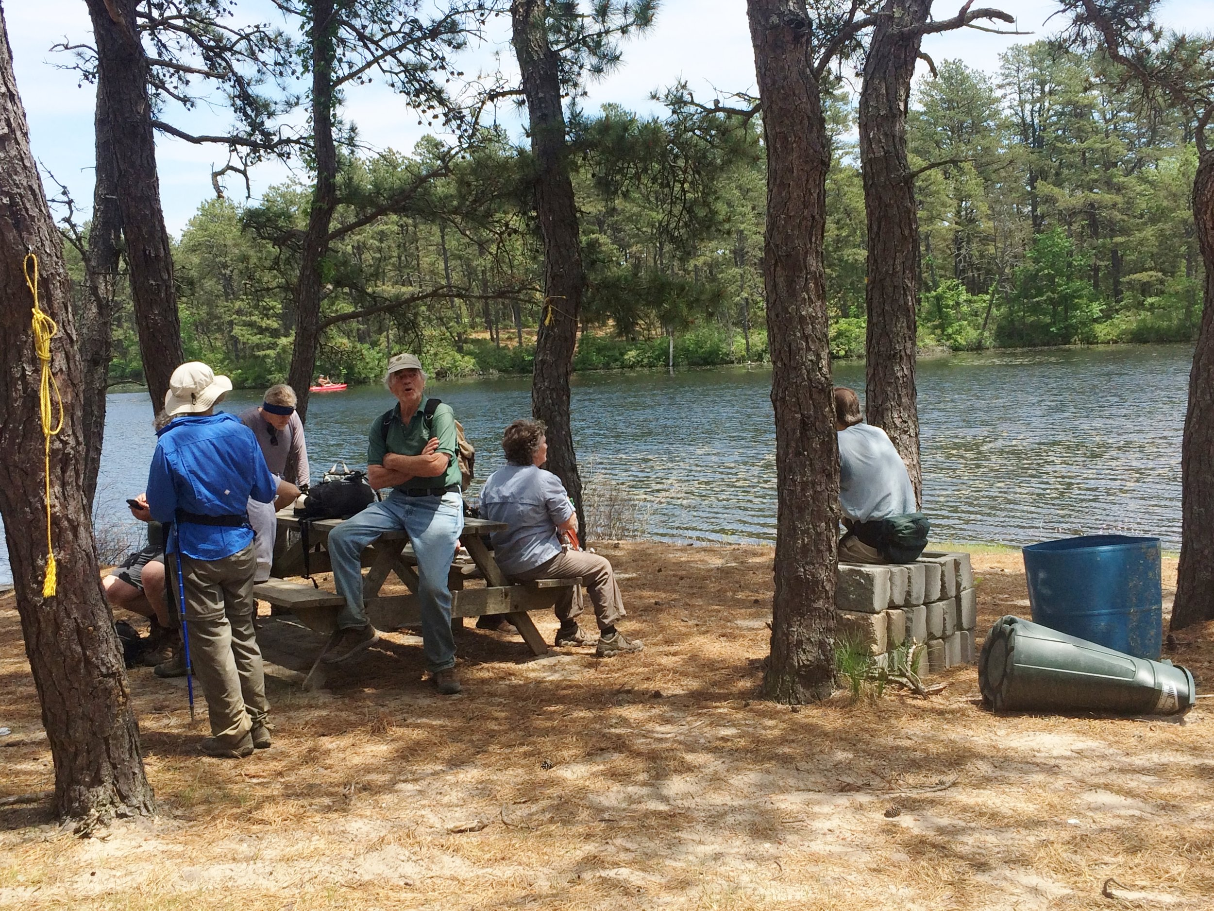 A respite at the picnic grounds on Maple Springs Reservoir (Part II)
