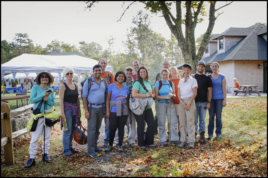 6-mile hikers return to DDF from Ellisville State Harbor