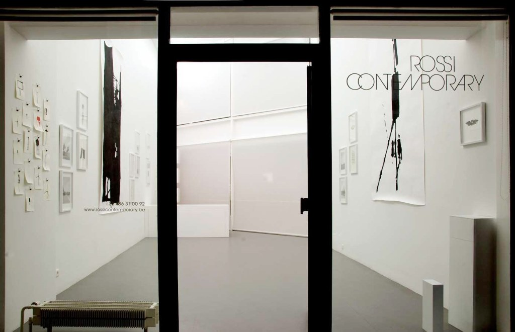 Michel Couturier.  Le bois sur l'autoroute   (exhibition view)