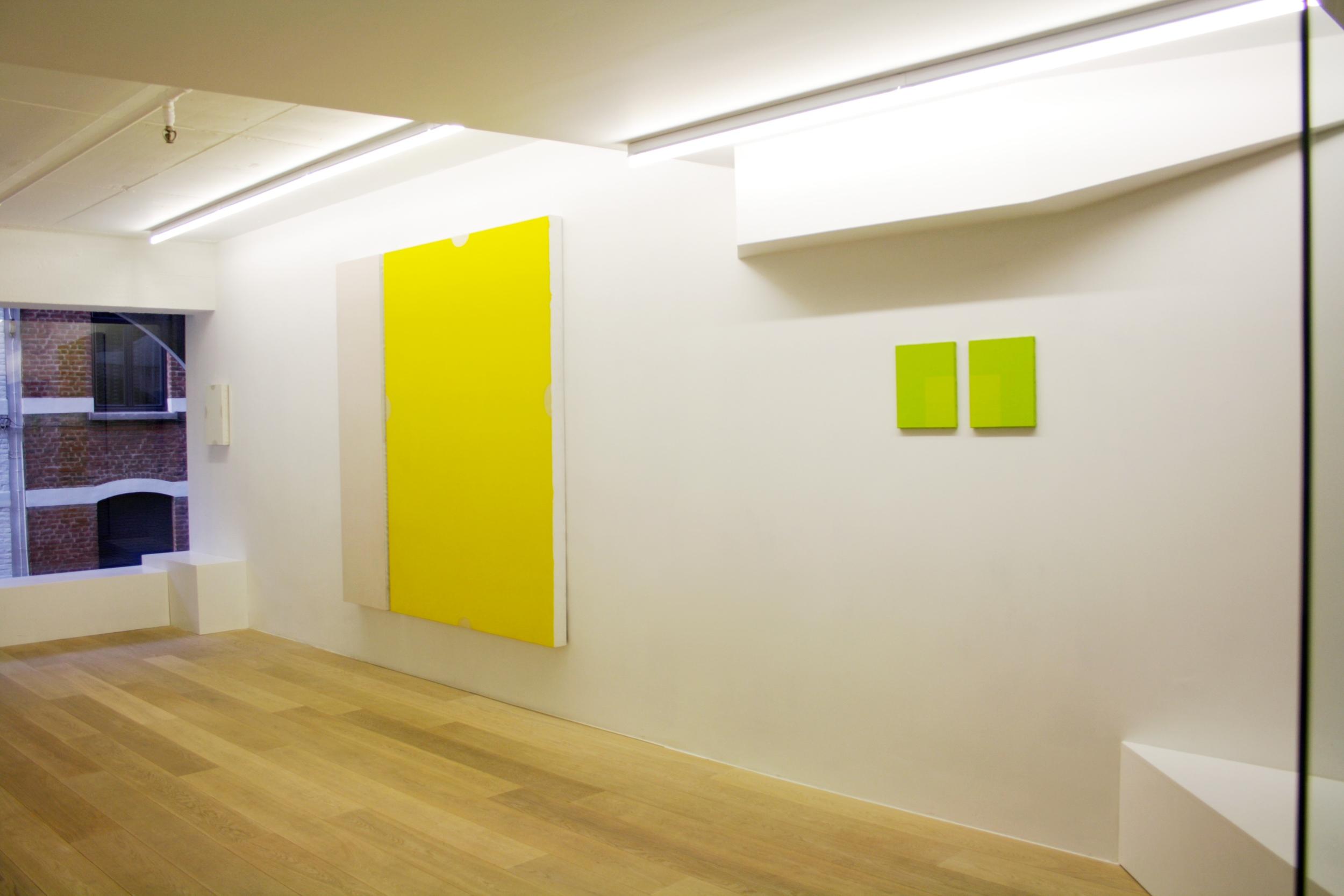 Michel Leonardi.  Three Colour Environments. The Autonomy of Colour  (side view)