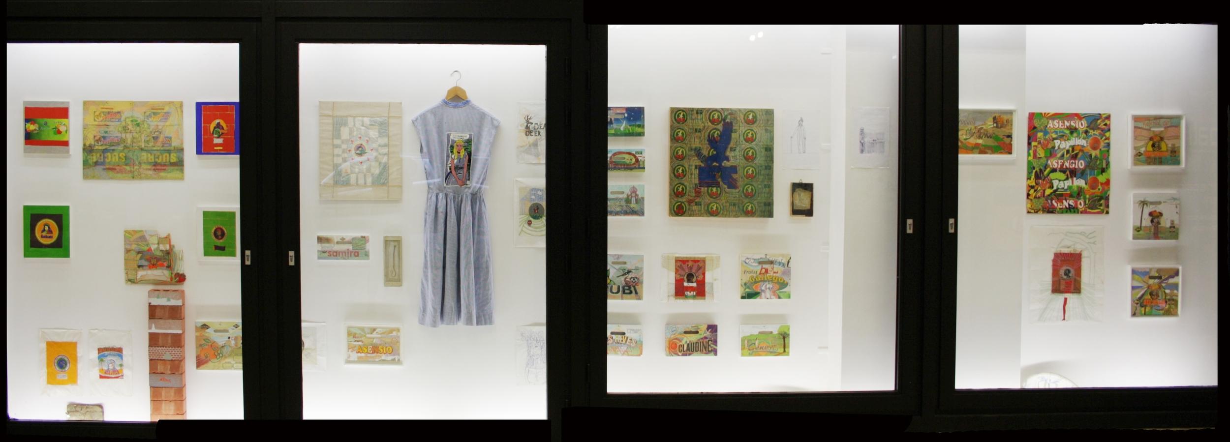 Eléonore Gaillet.  Inventaire  (installation view)