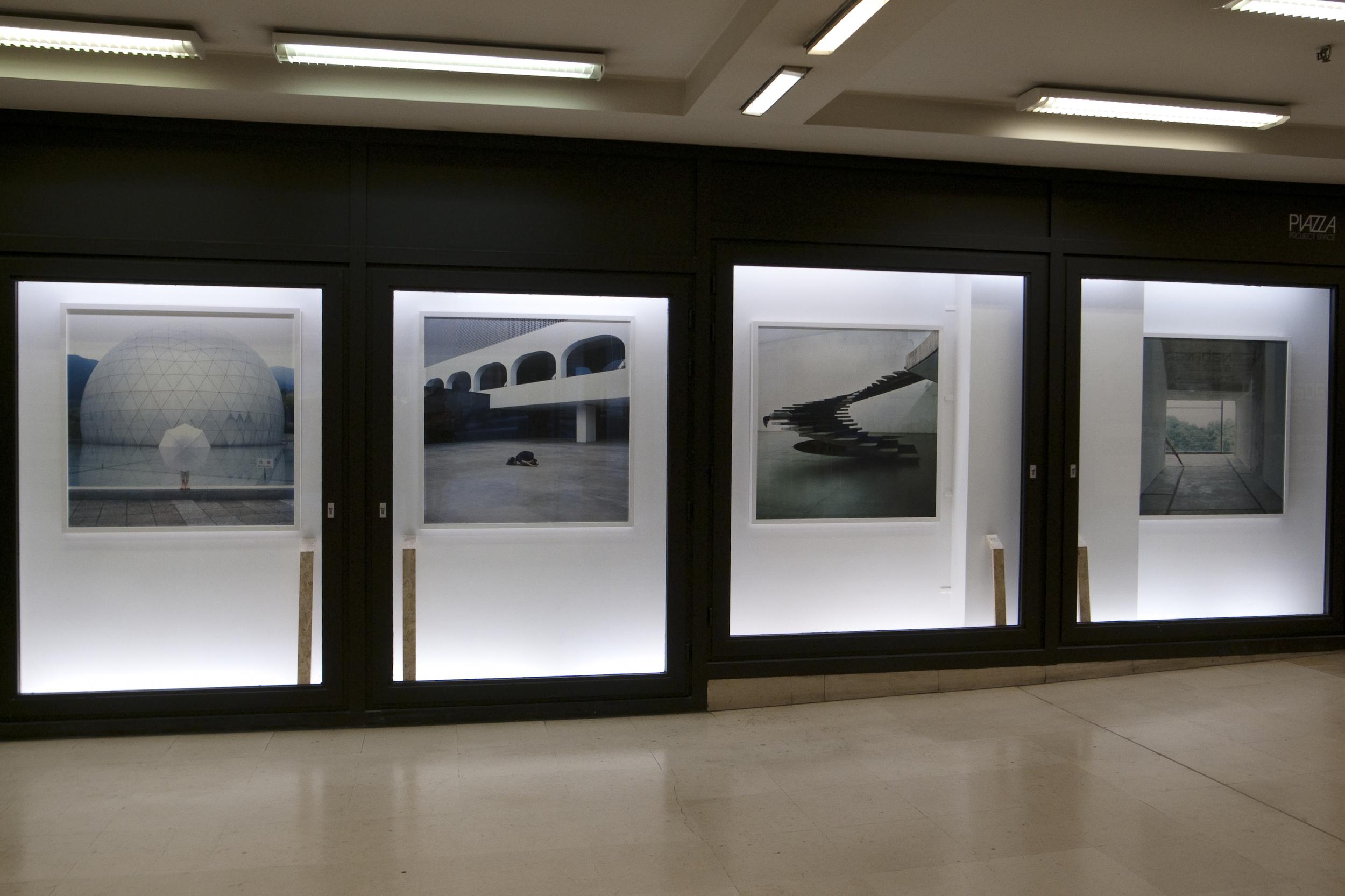 Sarah Van Marcke.  Körperkonfigurationen  (installation view)