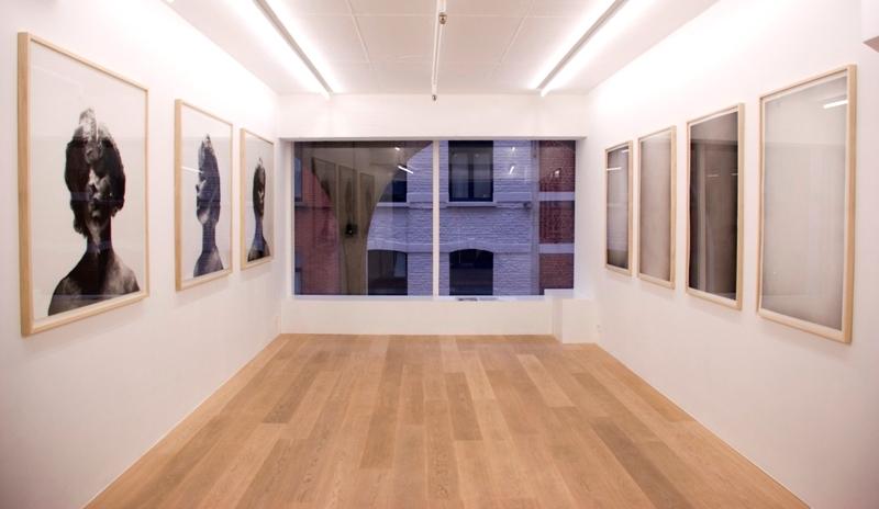 Romain Cadilhon.  Le bleu du ciel est sans pourquoi  (exhibition view)