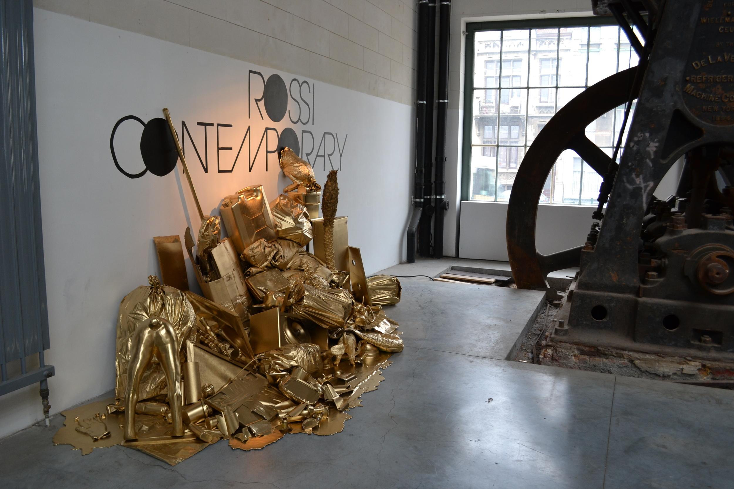 Simon Laureyns.  Fair Enough  (installation view at Poppositions Pop-Up Fair)
