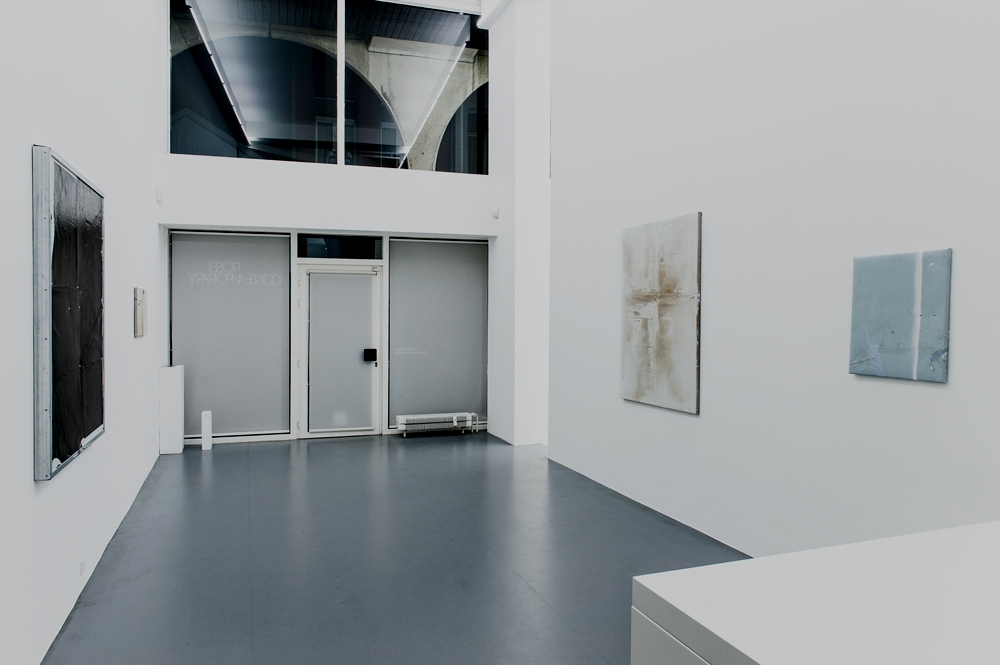 Simon Laureyns.  Cover Up The Grey  (exhibition view room 1)