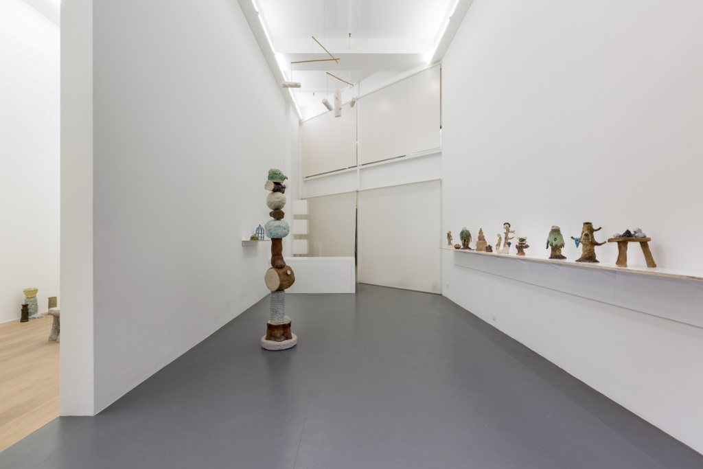 Eric Croes.  Ich bin wie du  (view of the exhibition, room 1) Photography Vincent Everarts