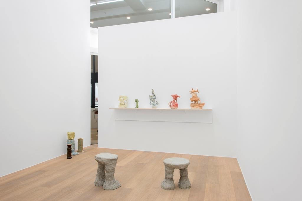 Eric Croes.  Ich bin wie du  (view of the exhibition, room 2) Photography Hugard & Vanoverschelde