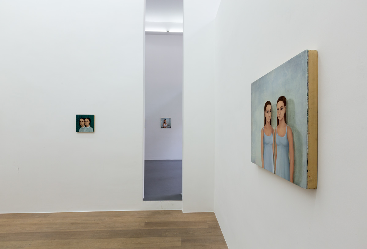 Marie Rosen.  Dividuels   (view of the exhibition) Photography Vincent Everarts