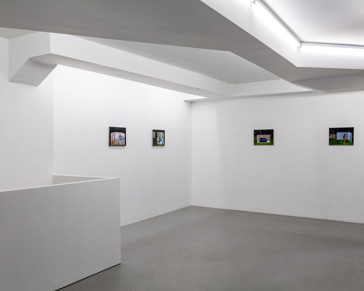 Luis Guzman.  Zoned   (Partial view, upper floor) Photography Vincent Everarts