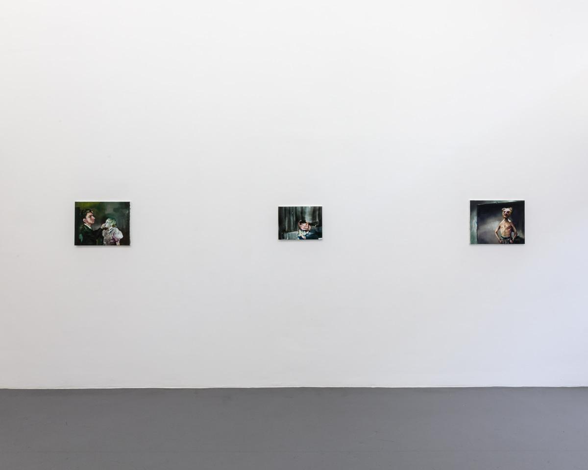 François Jacob.  Mascarade   (Room 1, side view) Photography Vincent Everarts