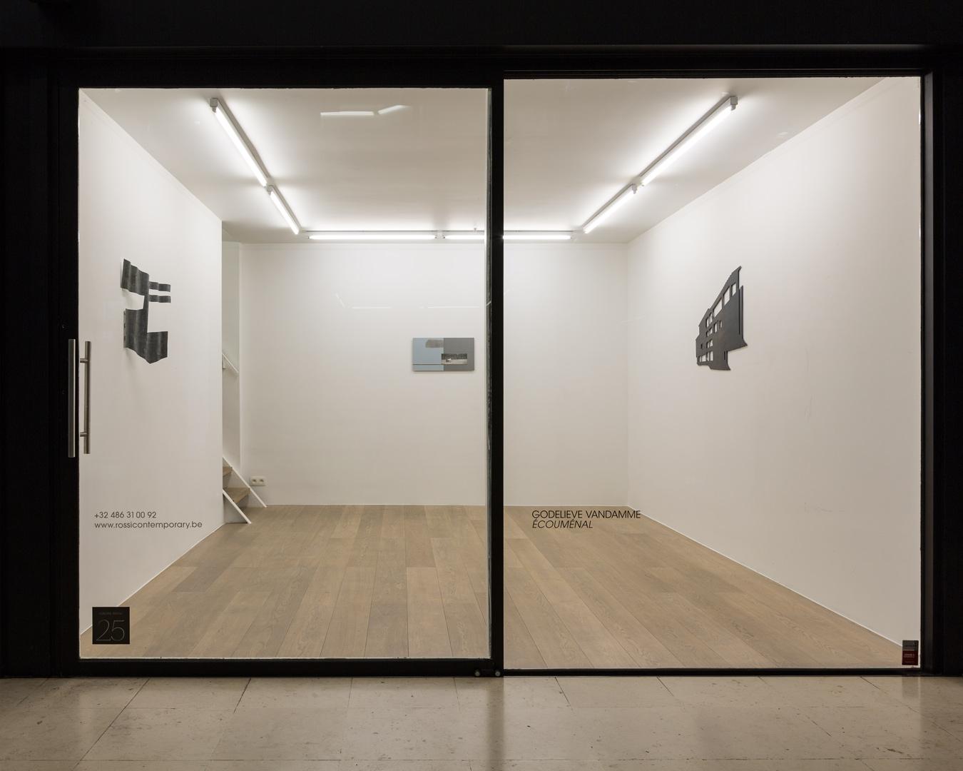 Godelieve Vandamme.  Ecoumenal  Exhibition View – Ground floor