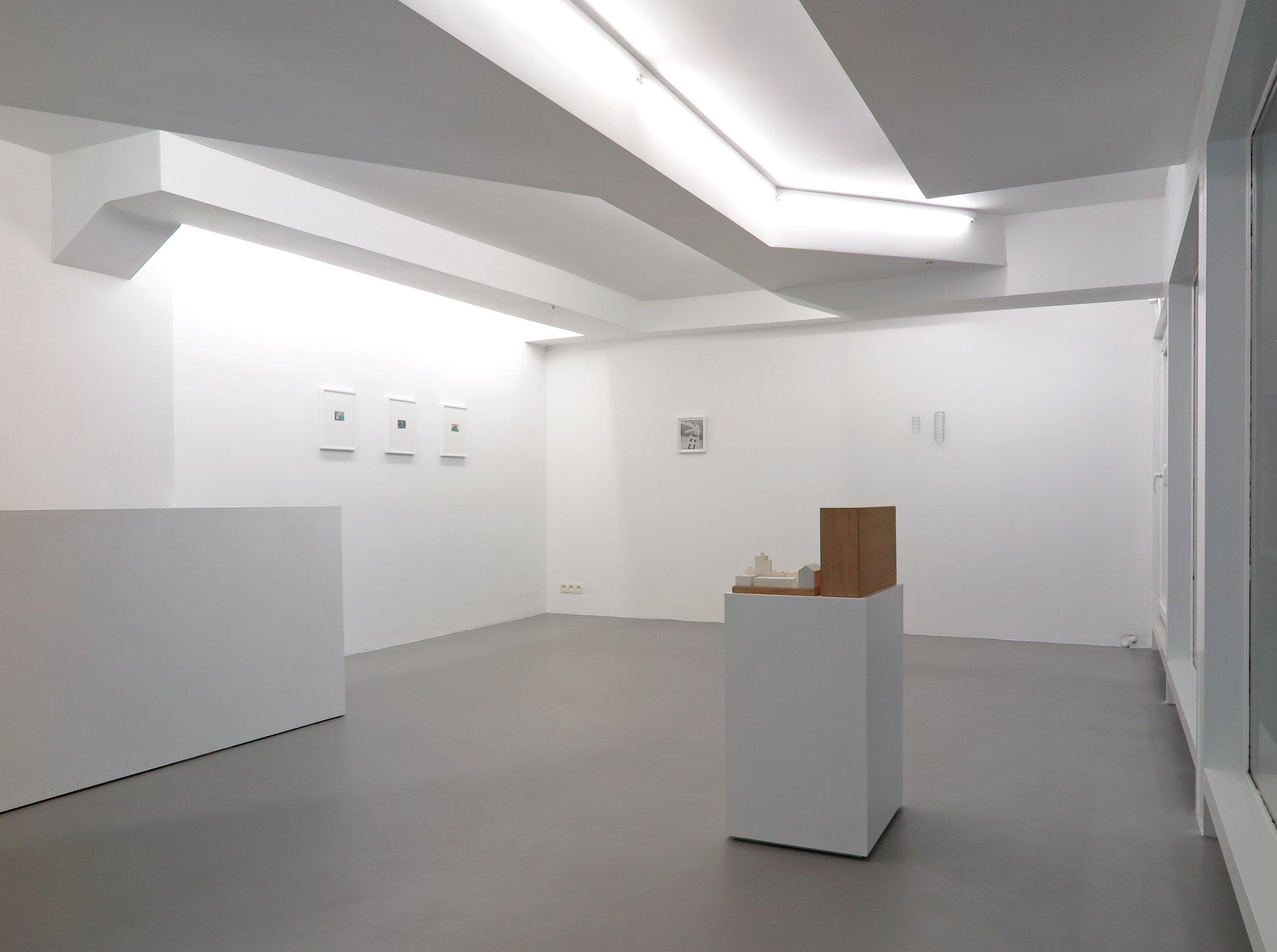 Parfois l'enigme, group show Exhibition view (detail)