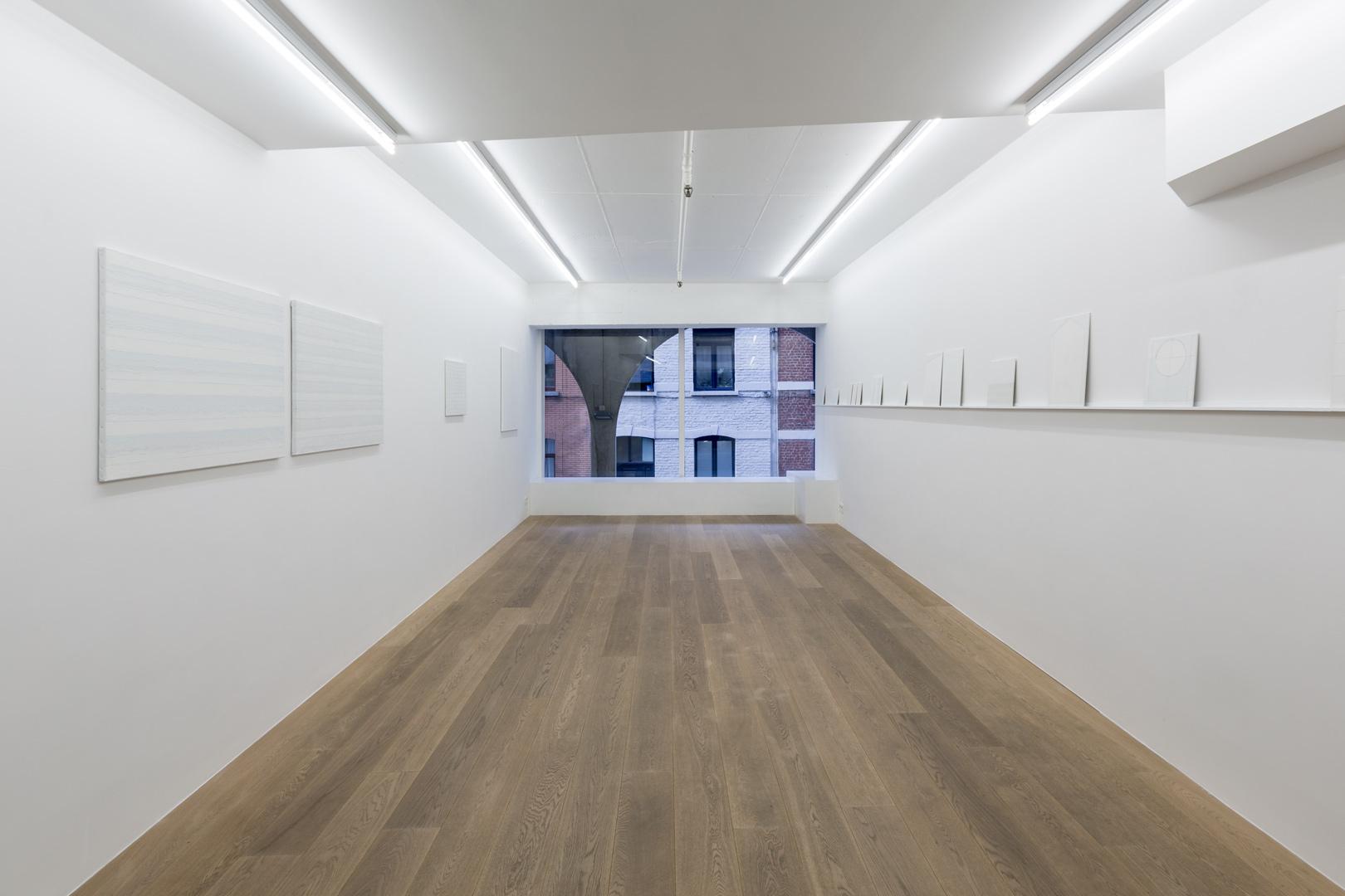 Etienne van Doorslaer. De witgekalkte klaarte Exhibition view