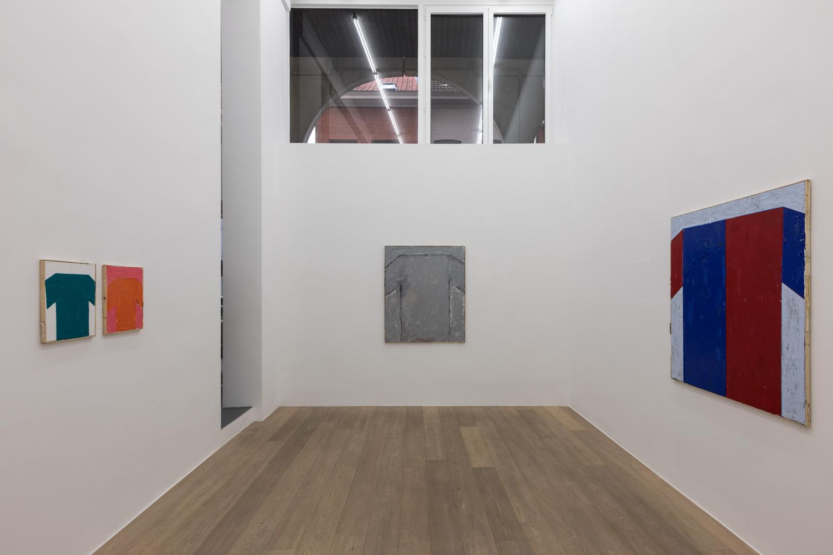 Bert Huyghe.  Yay Team. I Know I Can Do It. Just Put Me In Coach.  Exhibition view. Room 2