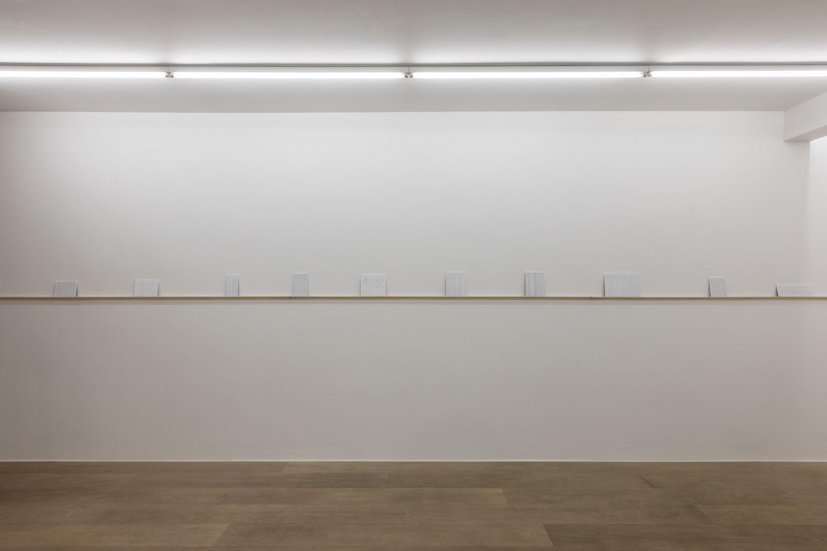 Pierre Sohie . Bruit blanc  Side view