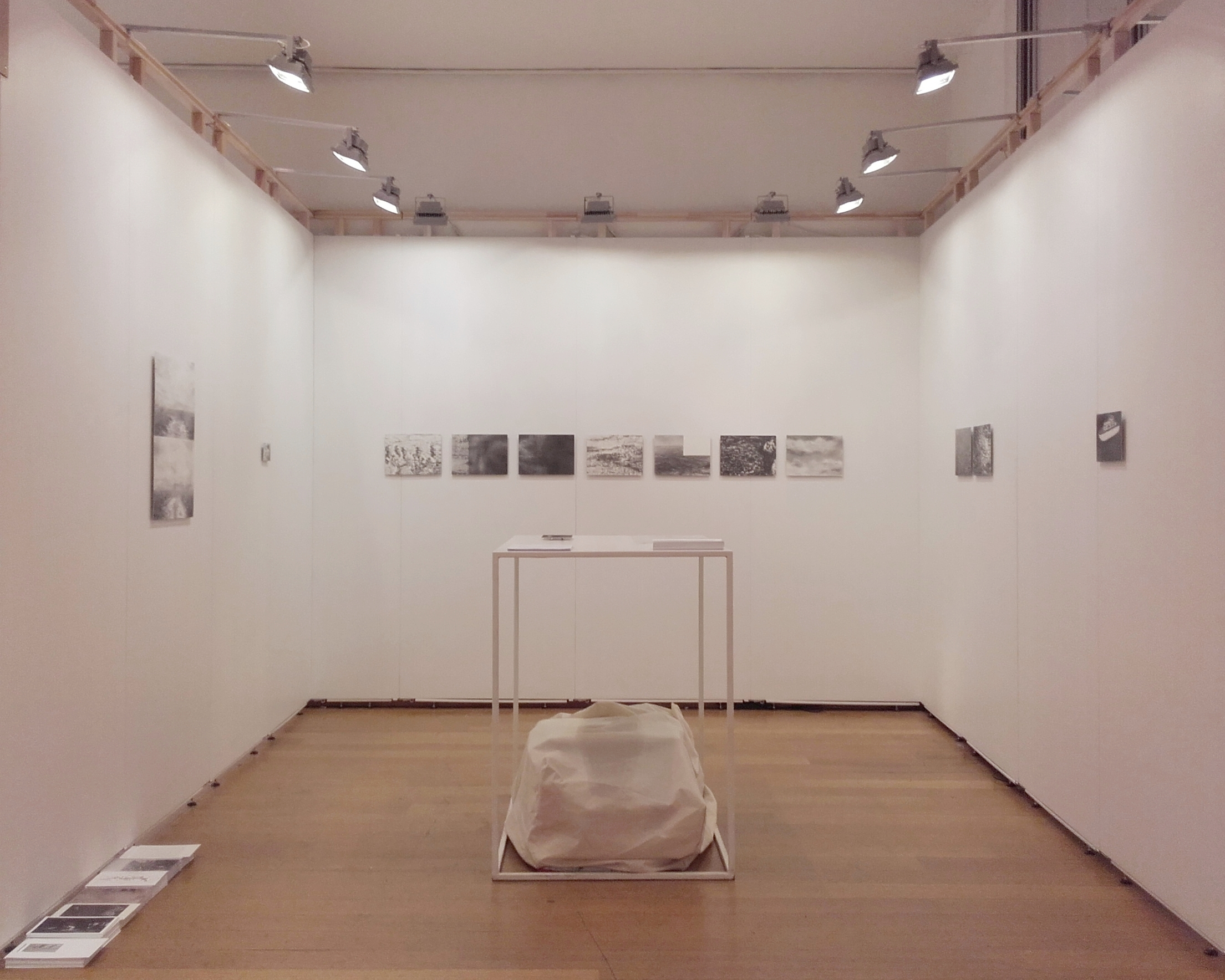 Art On Paper 2016 (Jean-Louis Micha) View of the booth