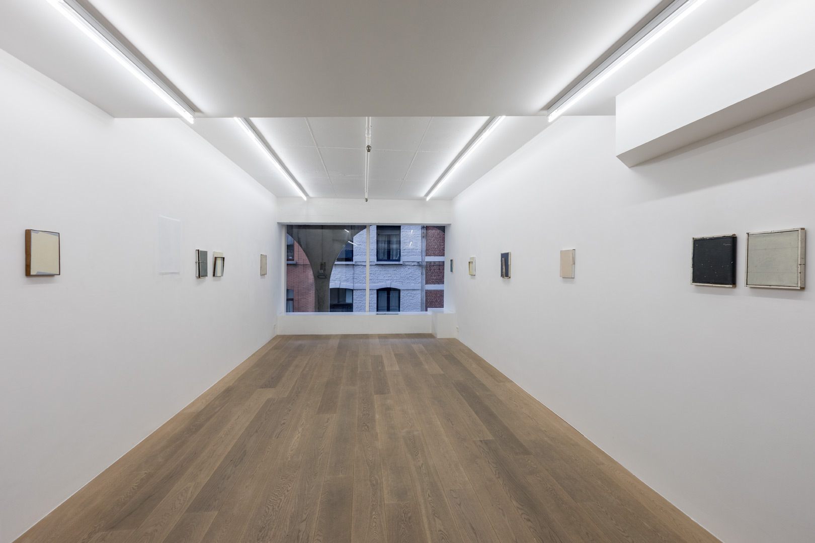 Evelyn Vanoverbeke.  A Size Too Short  Exhibition view