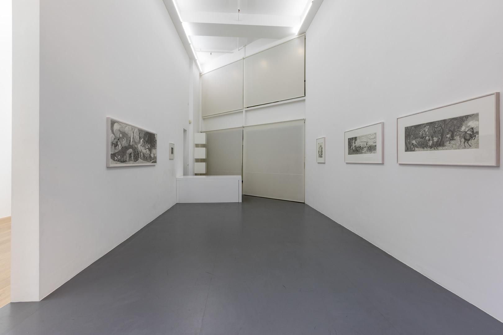 Emmanuel Tête.  Jardingue  Exhibition view. Room 1