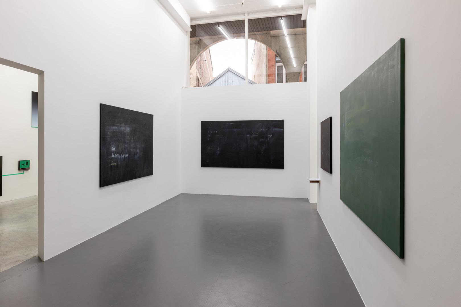 Alain Bornain.  Champs d'interprétations  Exhibition View