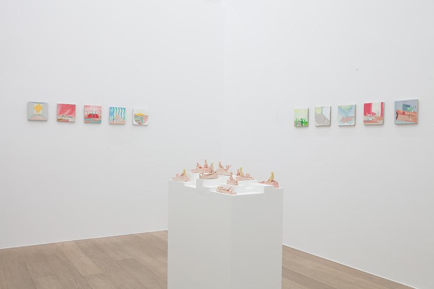 Thomas Mazzarella.  Temps Nouveaux  Exhibition View