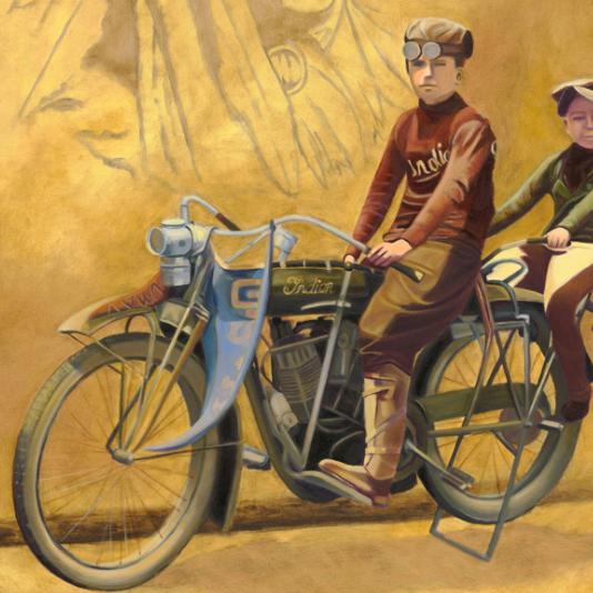 The Vintage Painter