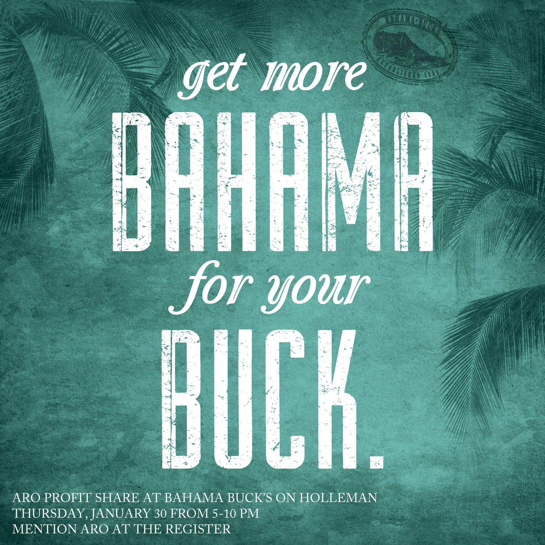 Copy of Bahama Buck's Profit-Share Promotional