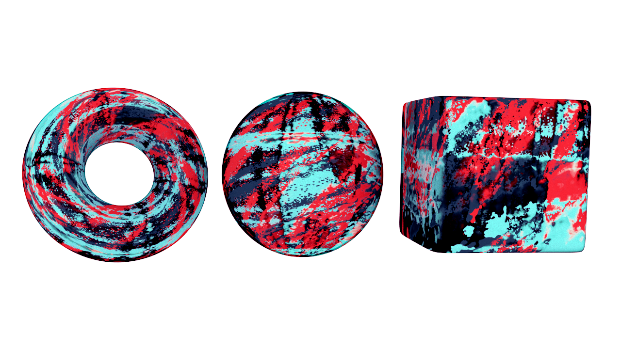 3D shader developed for V-Ray, designed with art-directable painterly aesthetics in mind. It's like,  Jackson Pollock  meets  Maya .
