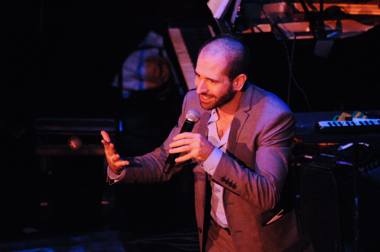 """Theatre C Artistic Director, Carlos Armesto, at the """"Celebration of C"""" benefit at The Cutting Room"""