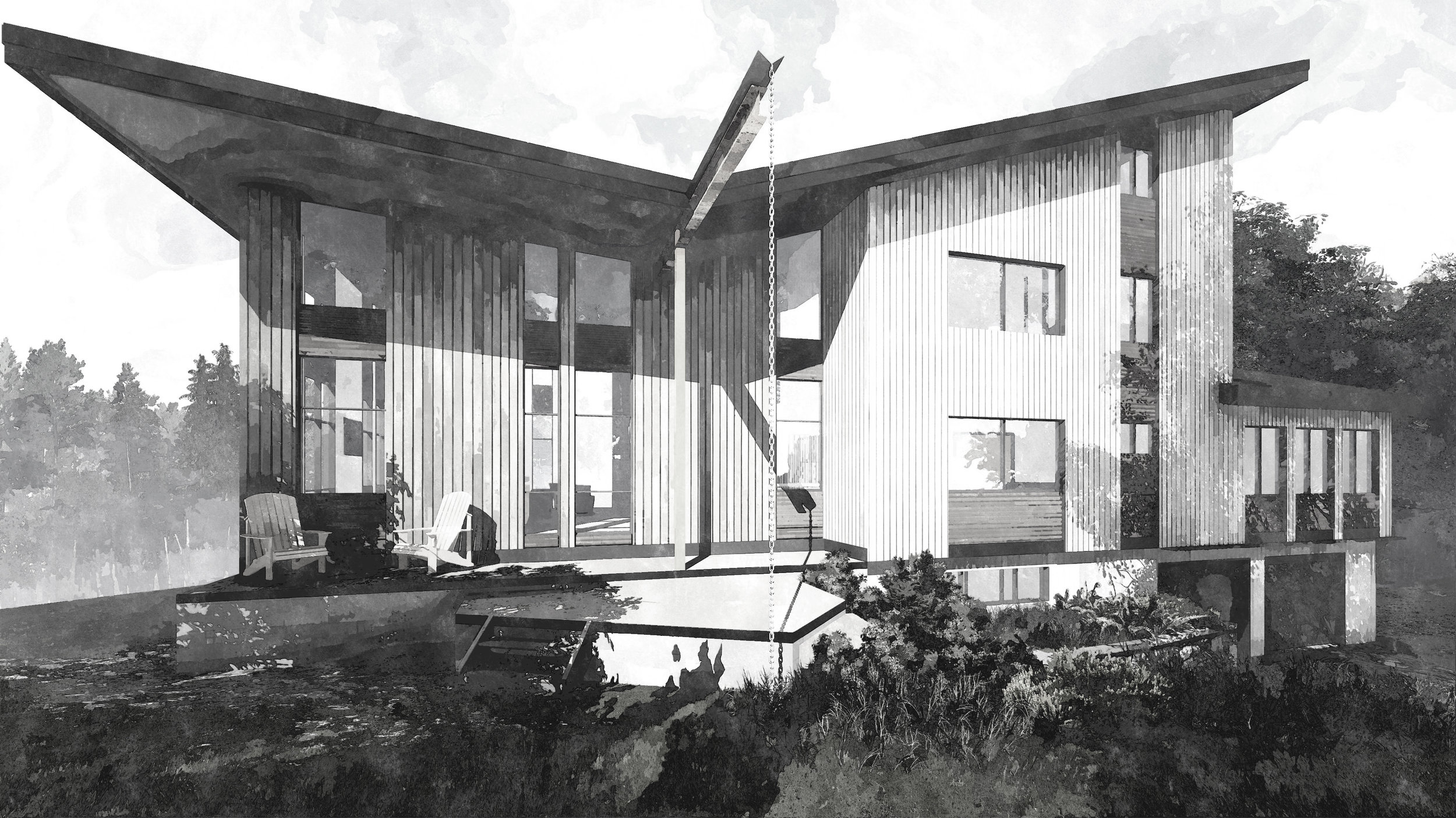Exterior 1 - Roof Option 2_FotoSketcher2_BW.jpg