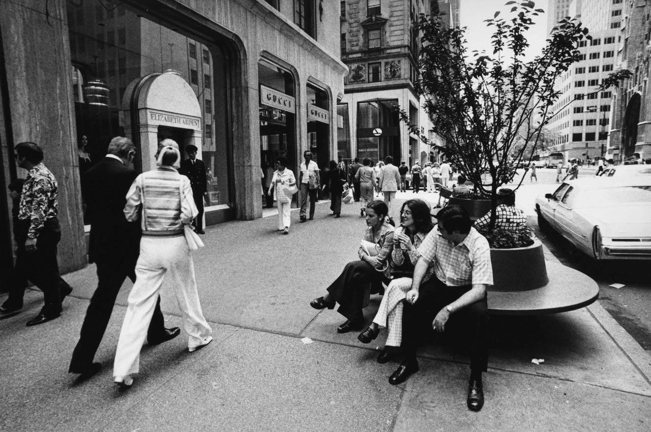 15_45_Pedestrians walking along Elizabeth Arden and Gucci store_Dan Wynn Archive.jpg