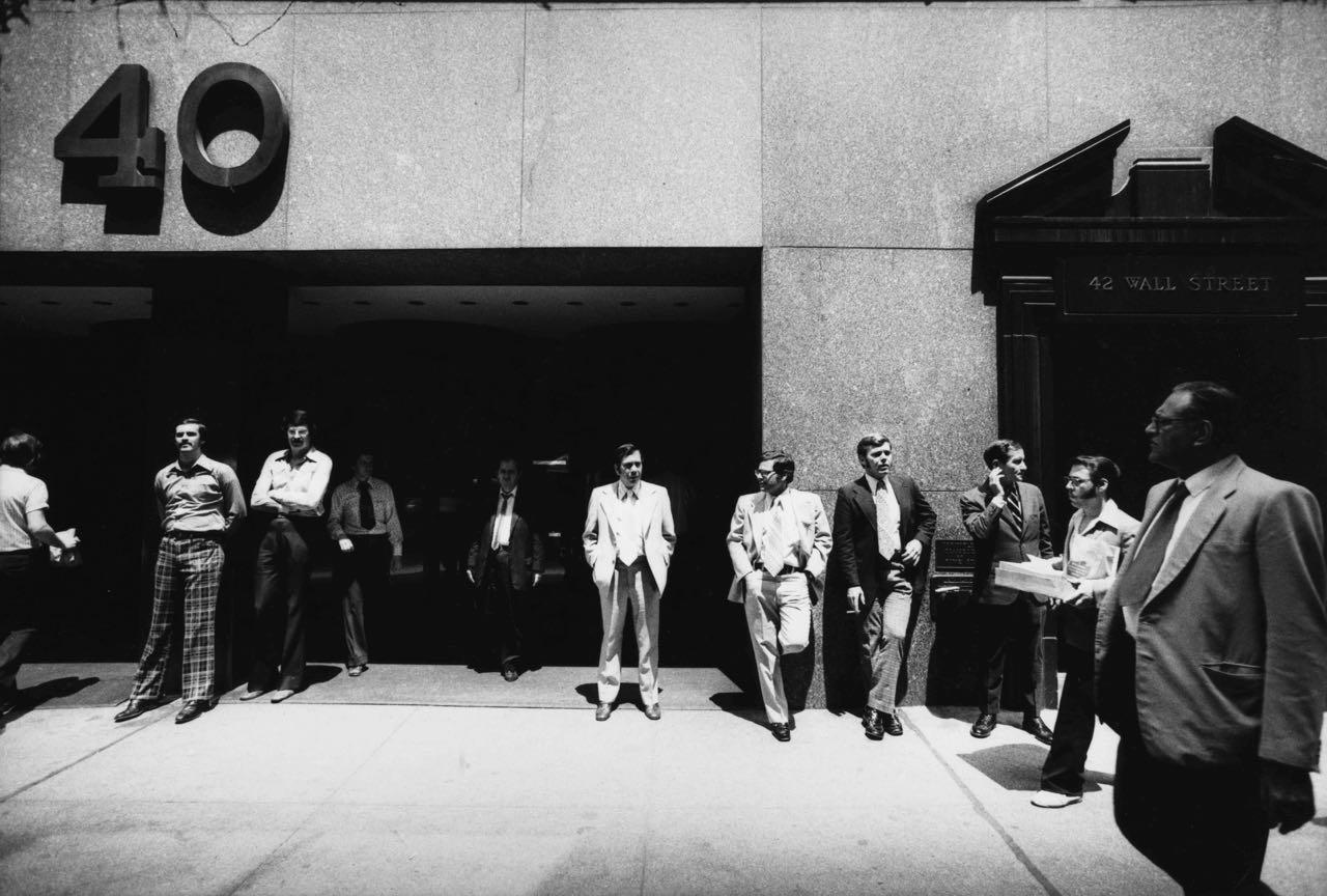 15_51_Business men standing outside of 42 Wall Street_Dan Wynn Archive.jpg