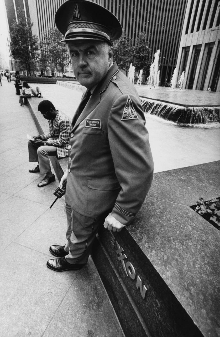 15_73_Security guard in front of Exxon #2_Dan Wynn Archive.jpg